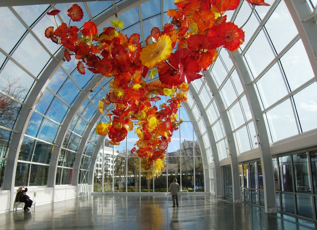 Art Glass For Glass Houses Tuck Colorful Pieces Among Your Indoor