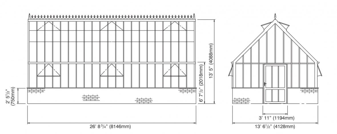 Victorian_Grand Gallery Elevations