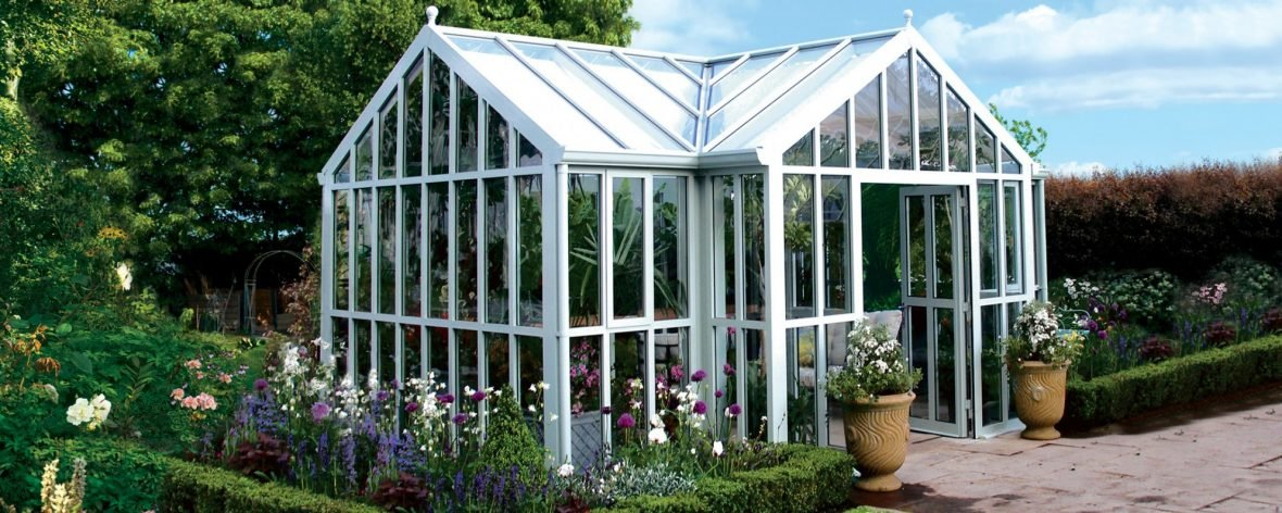 Opus 3 Glass To Ground Greenhouse From The Hartley Botanic Modern Horticulture Range