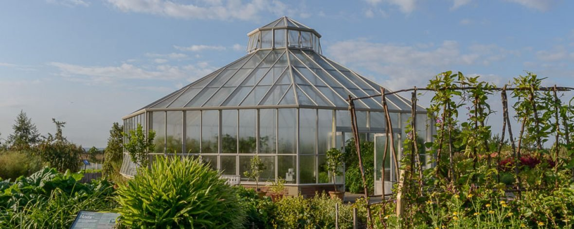 RHS Hyde Hall in the Garden - A Bespoke Greenhouse Designed by Hartley Botanic