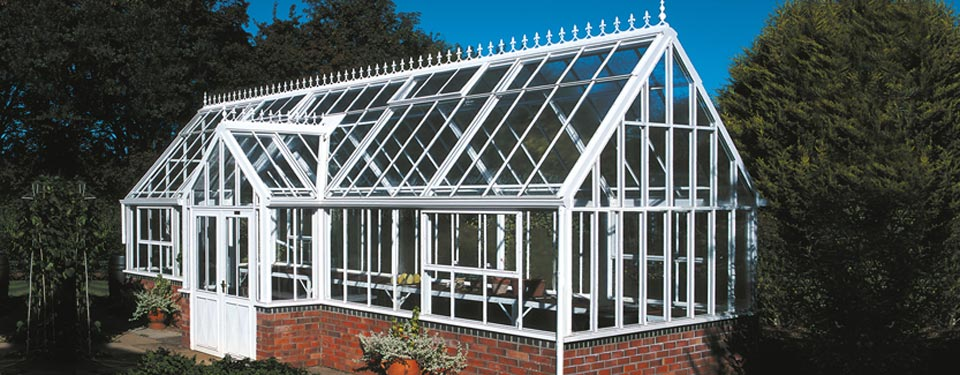 Victorian Grand Lodge Large Greenhouse By Hartley Botanic