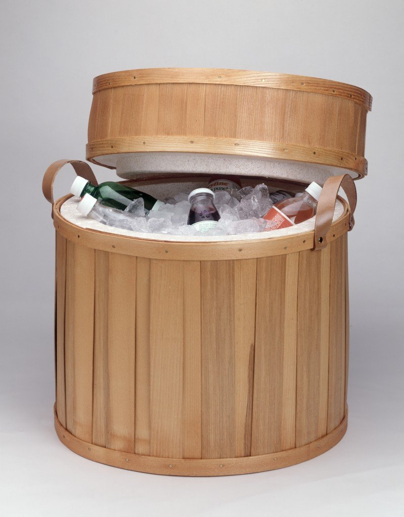 The prize: A beautiful Peterboro Drum Cooler