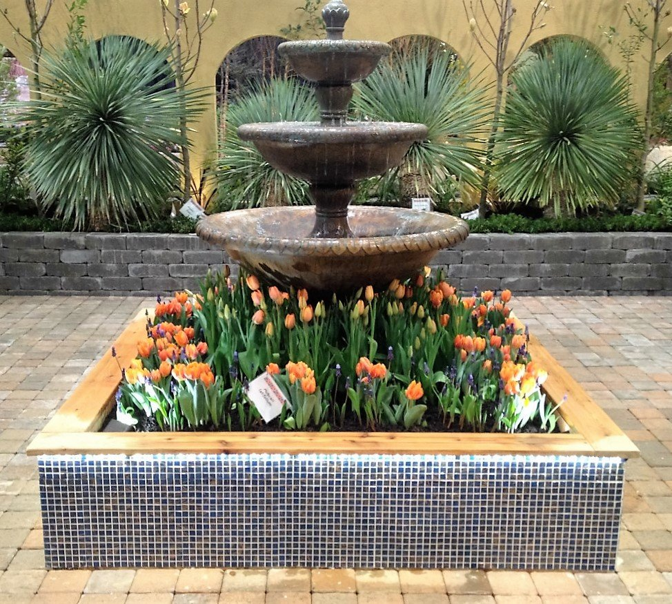 Courtyard Fountain NWFGS - 07.3.16