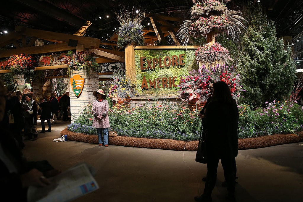 philly flower show - March 1