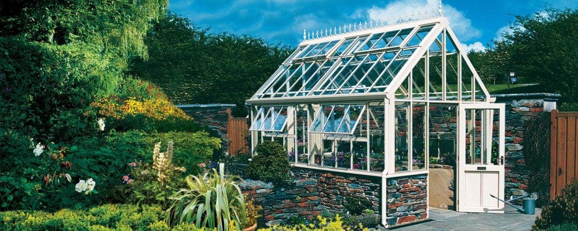 Victorian alpine glasshouse